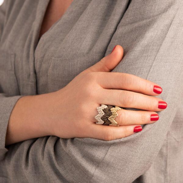 Crown-ring-xeiropoiito-makrame
